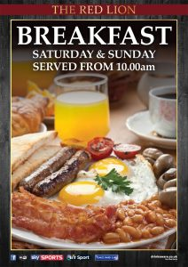 English breakfast, Burger, Wing, Snack - The Red Lion